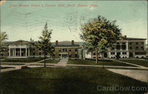 State Normal School & Taconic Hall North Adams Massachusetts
