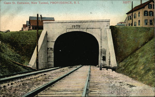 Gano Street Entrance, New Tunnel Providence Rhode Island