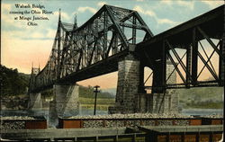 Wabash Bridge, Crossing the Ohio River at Mingo Junction