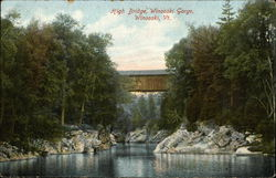 High Bridge, Winooski Gorge
