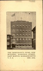 The Immigrant's Home New Building