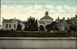 State Prison and County Jail, Front Entrance, Howard