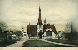 Calvary Baptist Church, from Elm Street