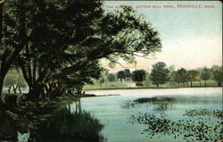 The Williams Cotton Mill Pond