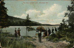 The Carry at Eight Lake Postcard