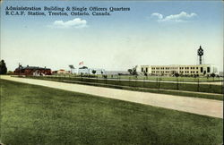 Administration Building & Single Officers Quarters, RCAF Station