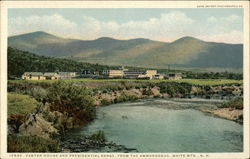 Fabyan House and Presidential Range, from the Ammonoosuc