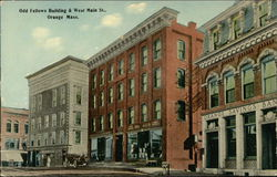 Odd Fellows Building & West Main St.