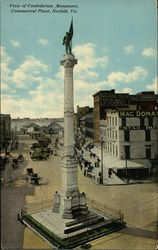 Confederate Monument, Commercial Place