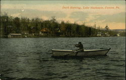 Duck Hunting, Lake Nephawin