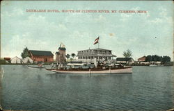 Denmarsh Hotel, Mouth of Clinton River
