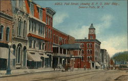 Fall Street, Showing B. P. O. Elks' Bldg.