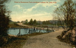 View in Rockwood Park (Artificial Lakes)