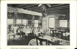 Dining Room, Winnipesaukee Inn and Camps