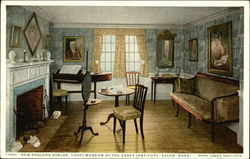 New England Parlor, Museum of the Essex Institute
