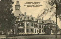Massachusetts Reformatory, Main Entrance, Homes of Superintendent & Deputy Superintendent