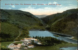 Bird's Eye View, the Balsams, Lake Glorietta and Dixville Notch