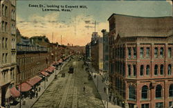 Essex Street, looking to Everett MIll