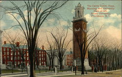 Brown University - Carrie Tower, Hope, Manning and University Halls