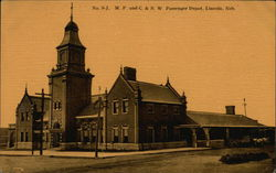 M. P. and C. & N. W. Passenger Depot