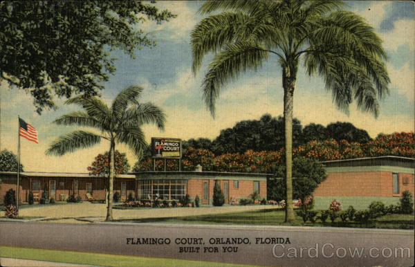 Flamingo Court Orlando Florida