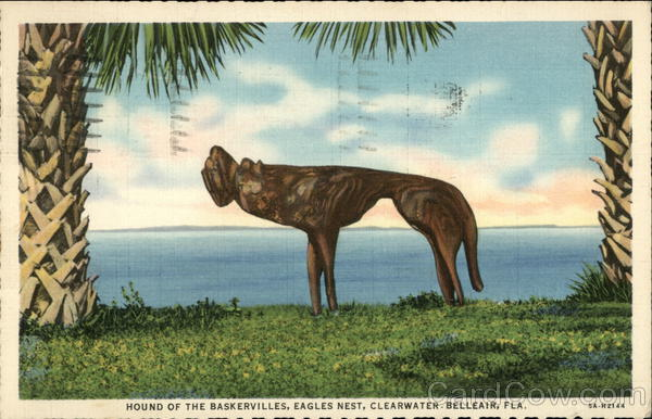 Hound of the Baskervilles, Eagles Nest, Clearwater - Belleair, Fla. Florida