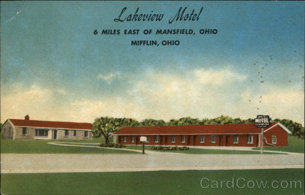 Lakeview Motel Mifflin Ohio