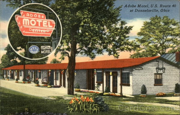 Adobe Motel Donnelsville Ohio