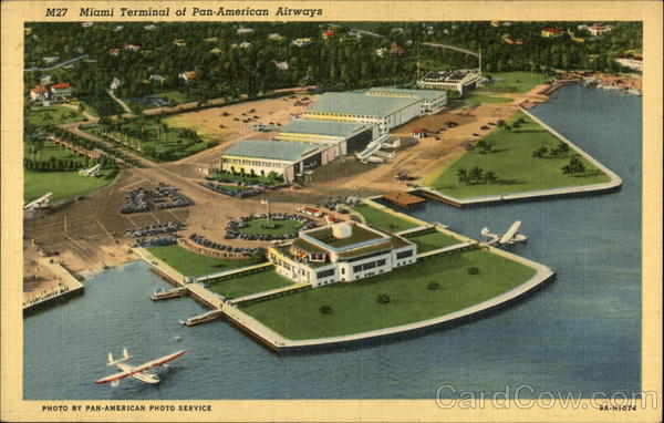 Pan-American Airways Terminal Miami Florida