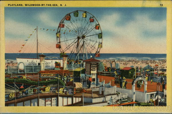 Playland Amusement Park on the Shore Wildwood-by-the-Sea New Jersey