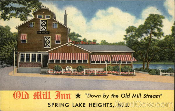Old Mill Inn Spring Lake Heights New Jersey