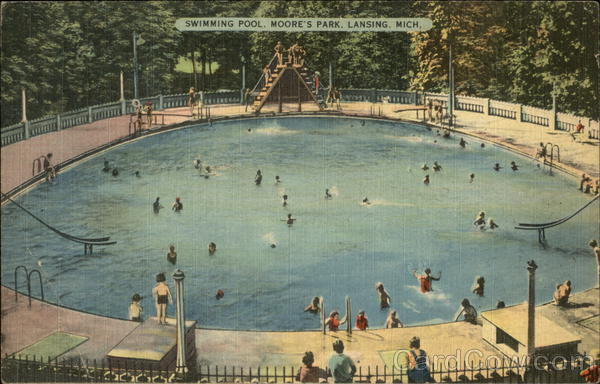 Moore's Park - Swimming Pool Lansing Michigan
