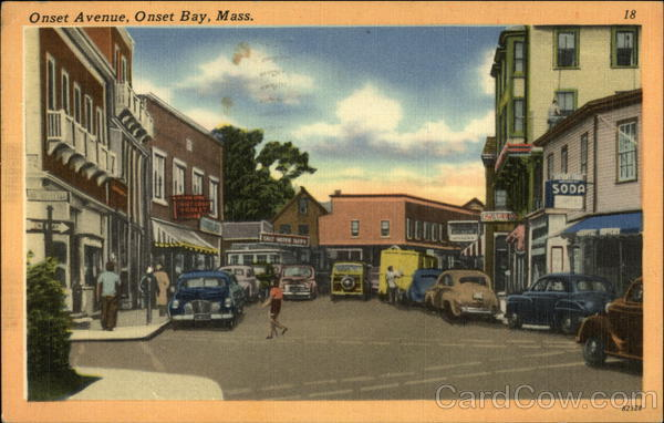 Artist Rendering of Onset Avenue, Onset Bay Wareham Massachusetts