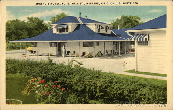 Spring's Motel Ashland Ohio