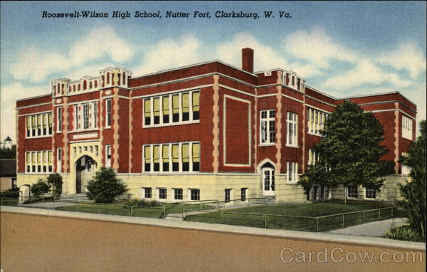 Roosevelt-Wilson High School, Nutter Fort Clarksburg West Virginia