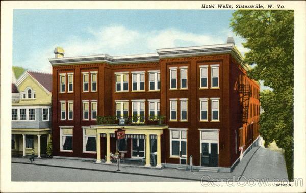 Hotel Wells Sistersville West Virginia
