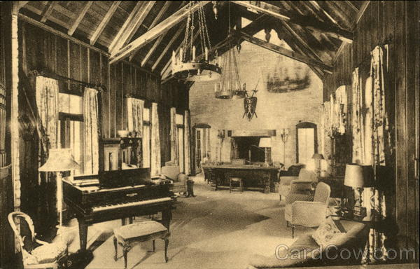 Our Lady of Sunset Point Camp, Sisters of Mercy - Drawing Room Eagle River Wisconsin