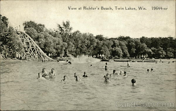Richter's Beach Twin Lakes Wisconsin