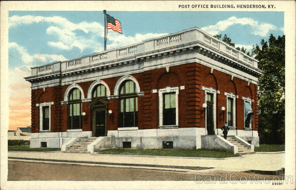 Post Office Henderson Kentucky