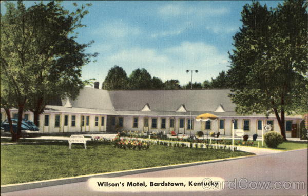 Wilson's Motel Bardstown Kentucky