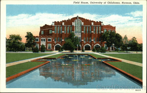 Field House at the University of Oklahoma Norman