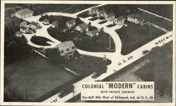 Colonial Modern Cabins Richmond Indiana