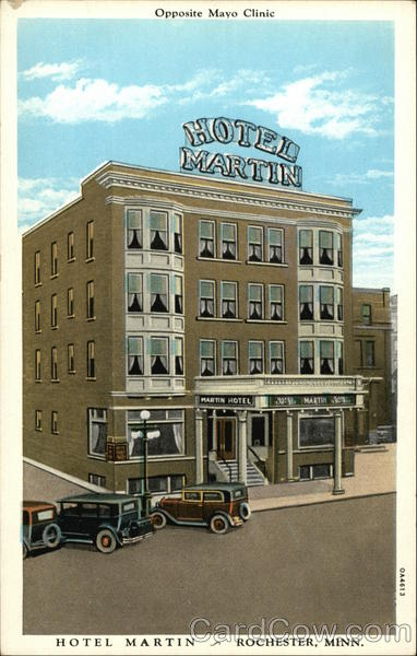 Hotel Martin - Opposite the Mayo Clinic Rochester Minnesota