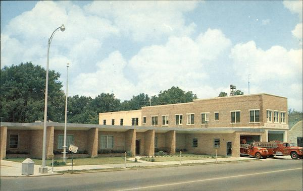 City Hall and Fire Station Stuttgart Arkansas