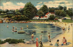 The Beach at Cape Ann