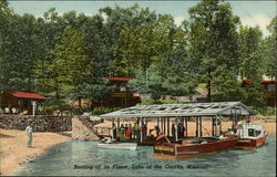 Boating at its Finest, Lake of the Ozarks, Missouri Postcard