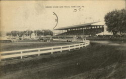 Grand Stand and Track, York Fair