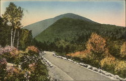 The Mountain Road in Acadia National Park