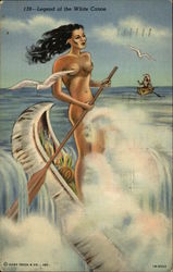 Legend of the white canoe