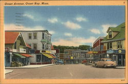 View of Onset Avenue, Onset Bay